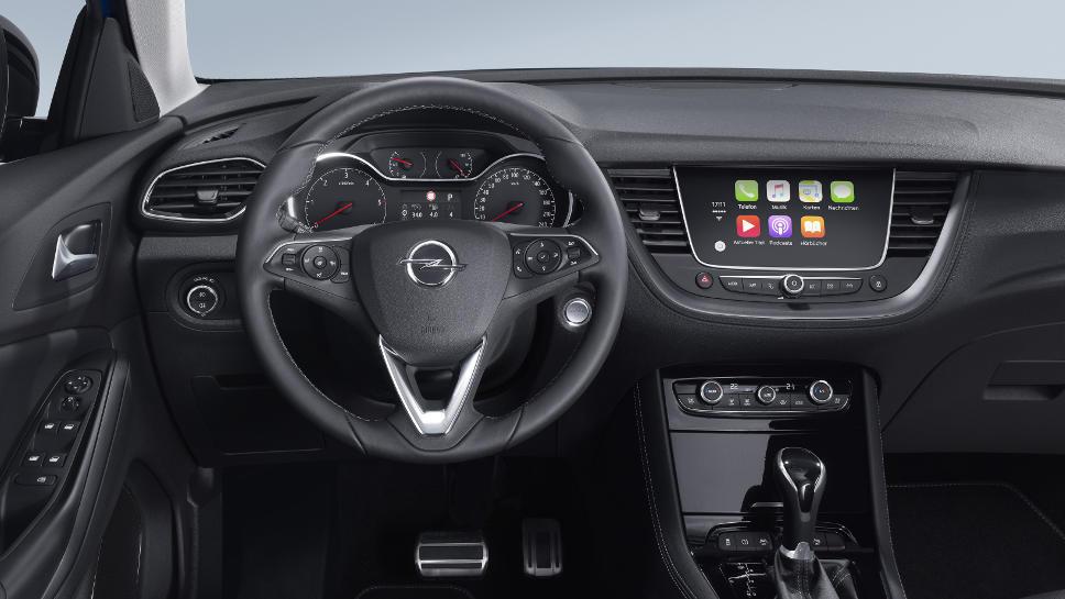 Das Cockpit des Grandland X von Opel. Foto: Opel