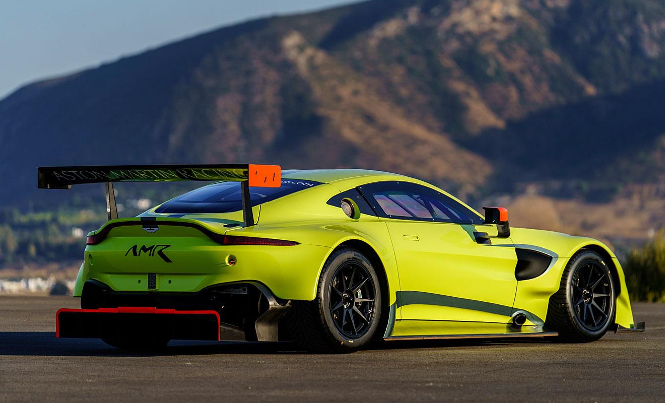 Der Vantage kehrt auf die Rennstrecke zurück. Foto: Aston Martin