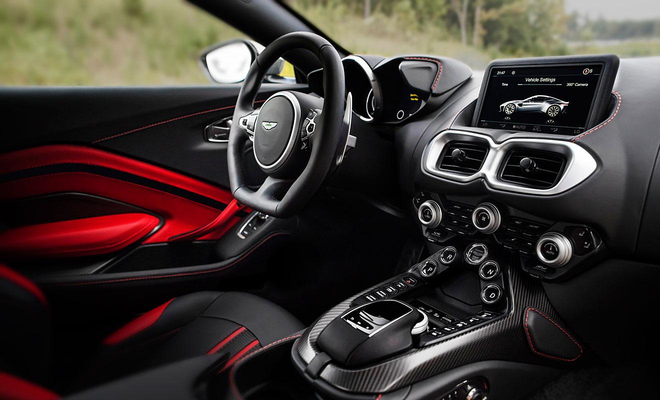 Unterstützung von Mercedes-AMG. Foto: Aston Martin