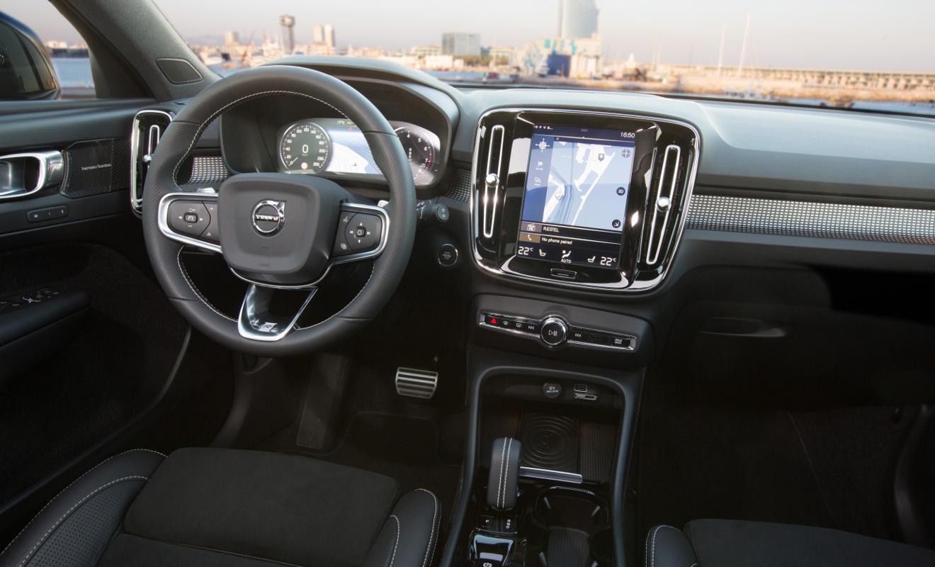 Volvo 40 1 Interior >> Volvo XC40: Cool sein hat seinen Preis - Autogazette.de