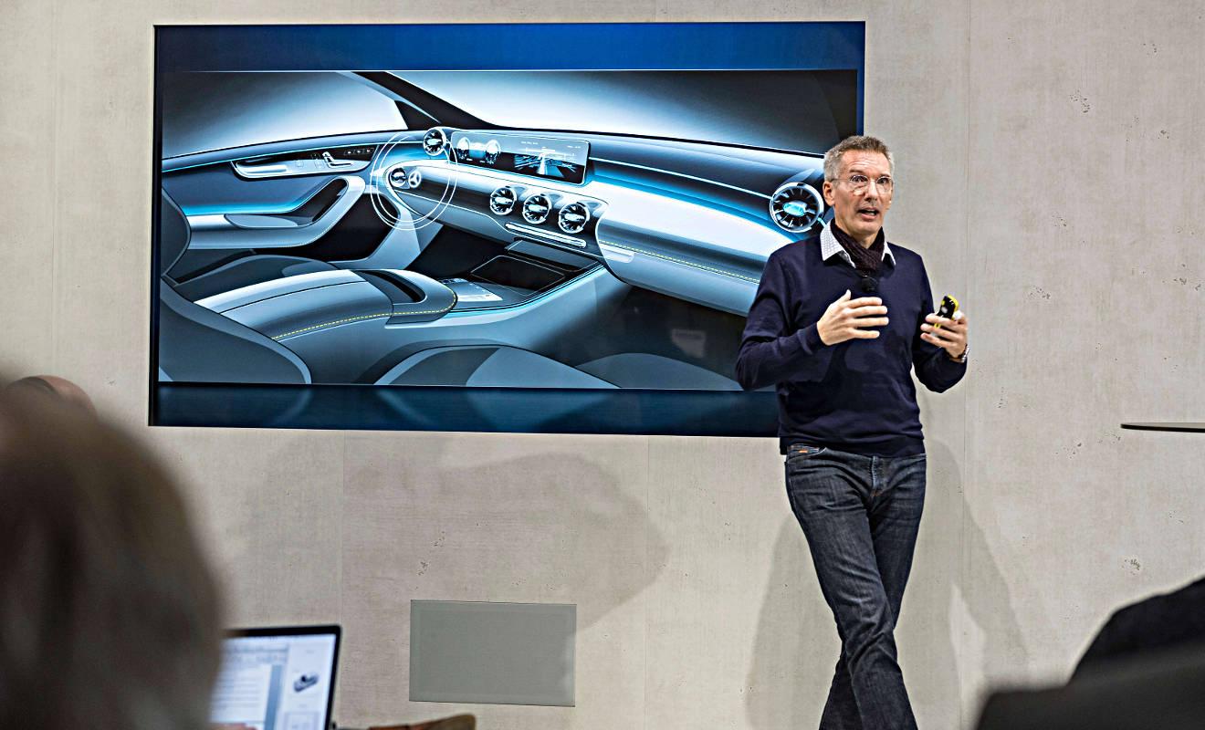 Mercedes-Designer Hartmut Sinkwitz. Foto: Daimler