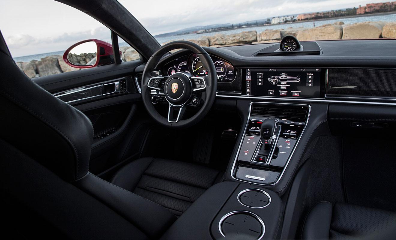 Das Cockpit des Panamera ST. Foto: Porsche