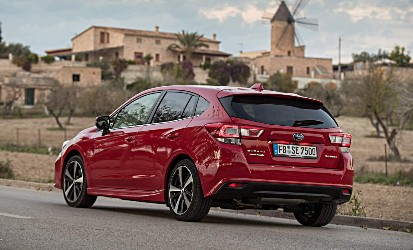 Der Subaru Impreza. Foto: Subaru