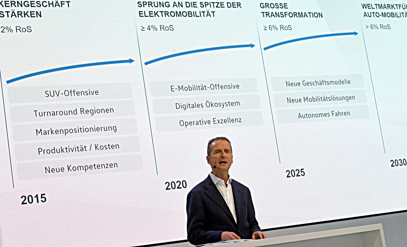 Herbert Diess ist VW-Markenchef. Foto: dpa