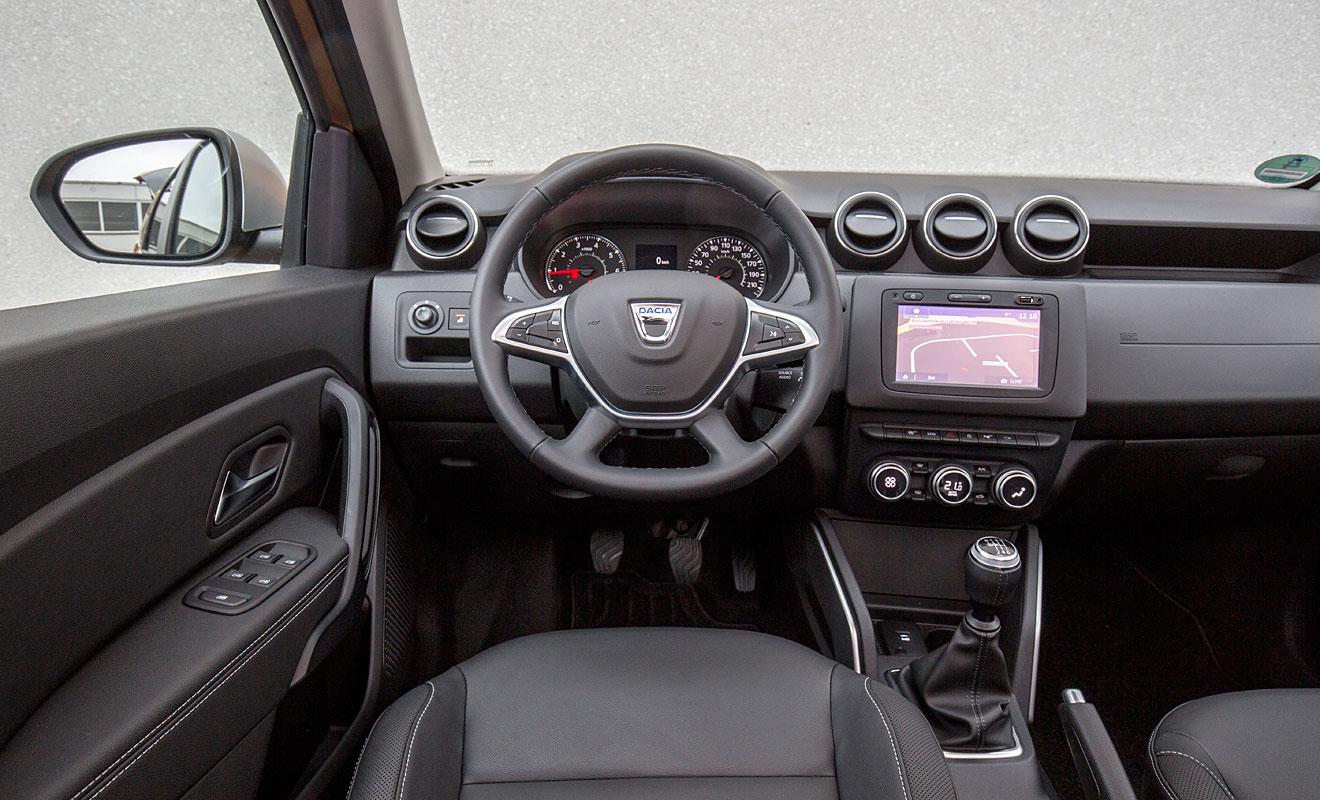 Das Cockpit des Duster. Foto: Dacia