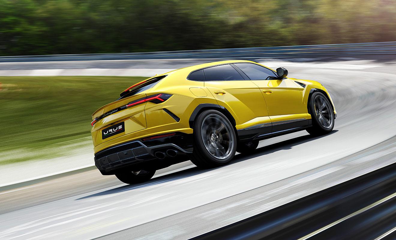 Der Urus schafft 305 km/h. Foto: Lamborghini