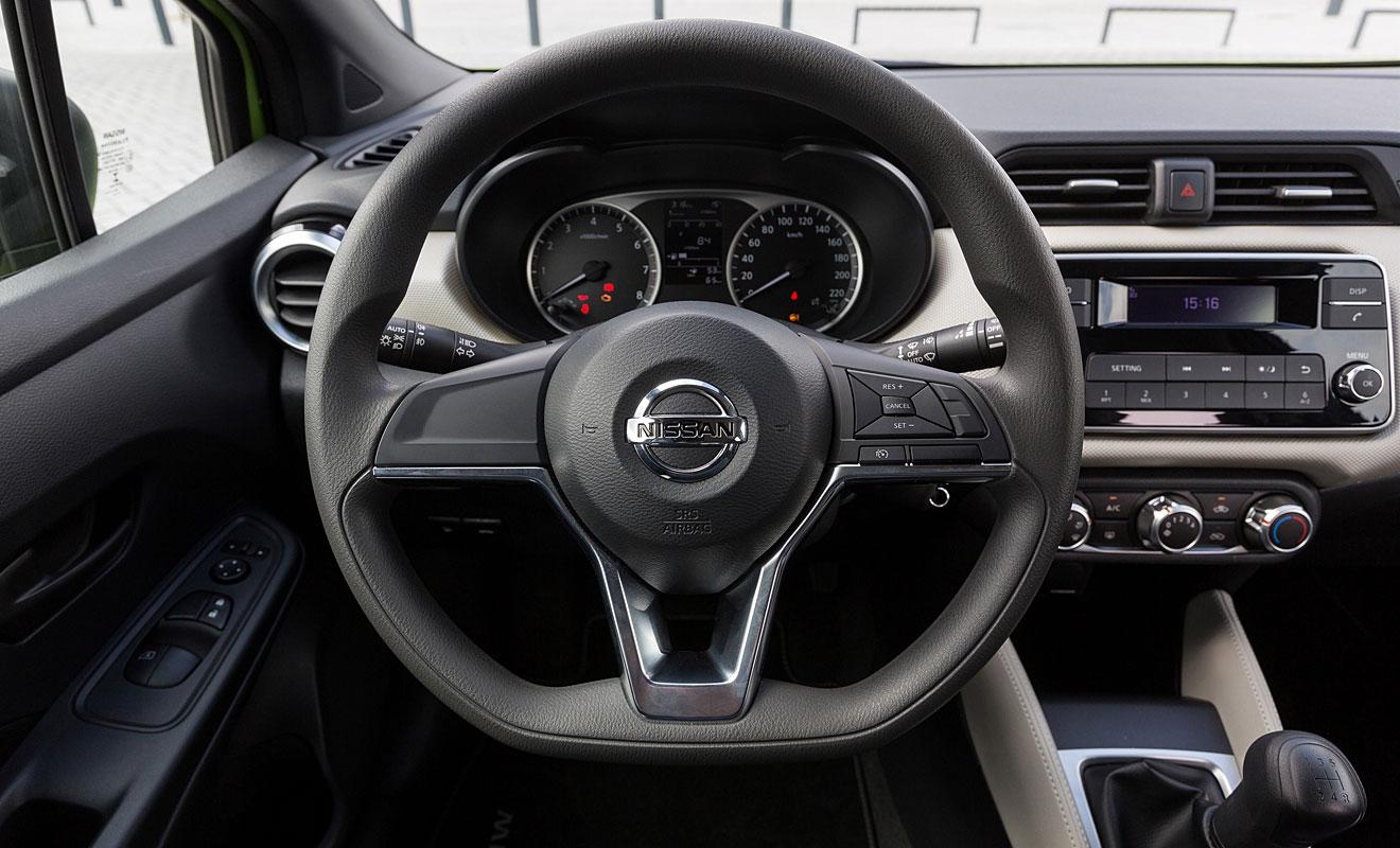 Das Cockpit des Micra. Foto: Nissan