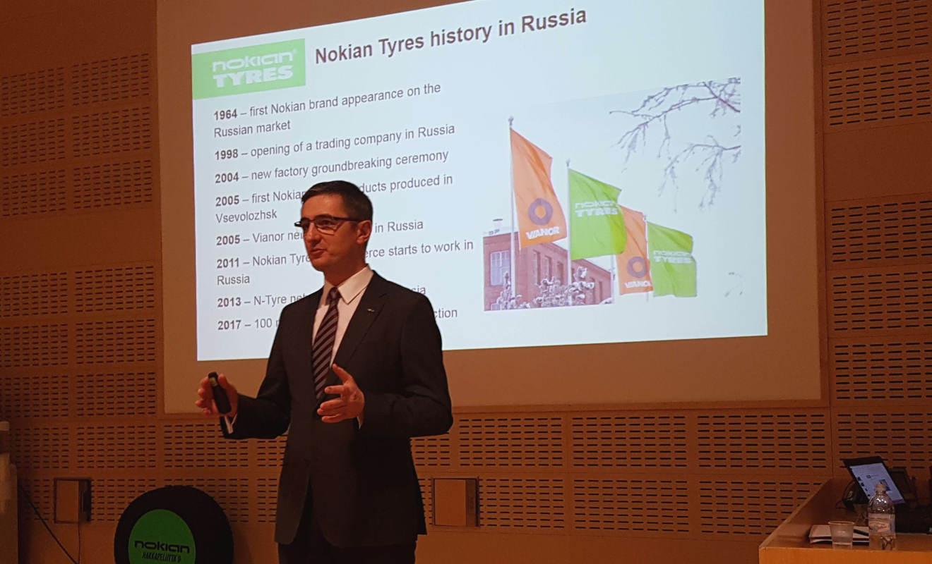 Andrei Pantioukhov von Nokian. Foto: Mertens