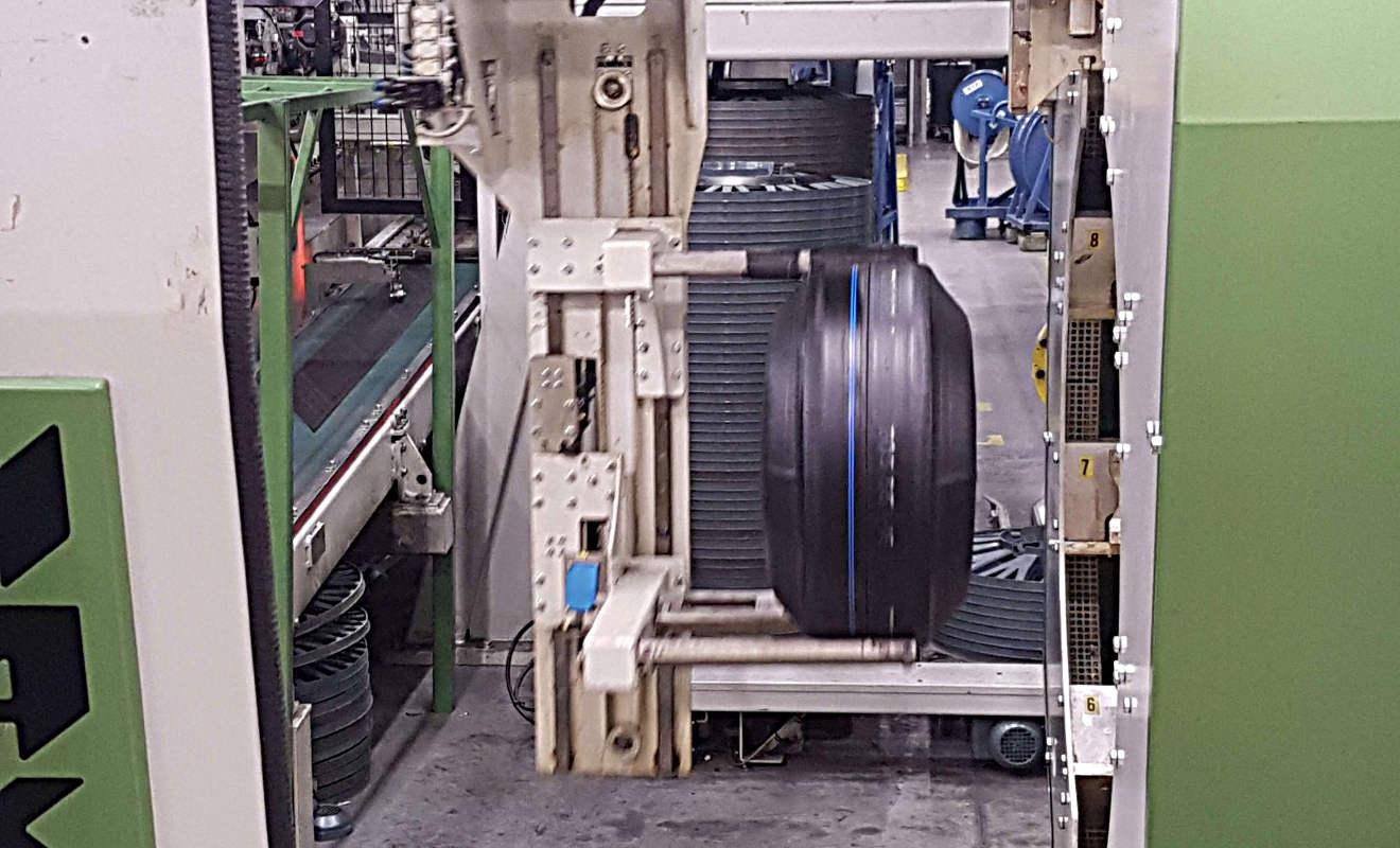 Nokian-Reifen in der Produktion Foto: Mertens