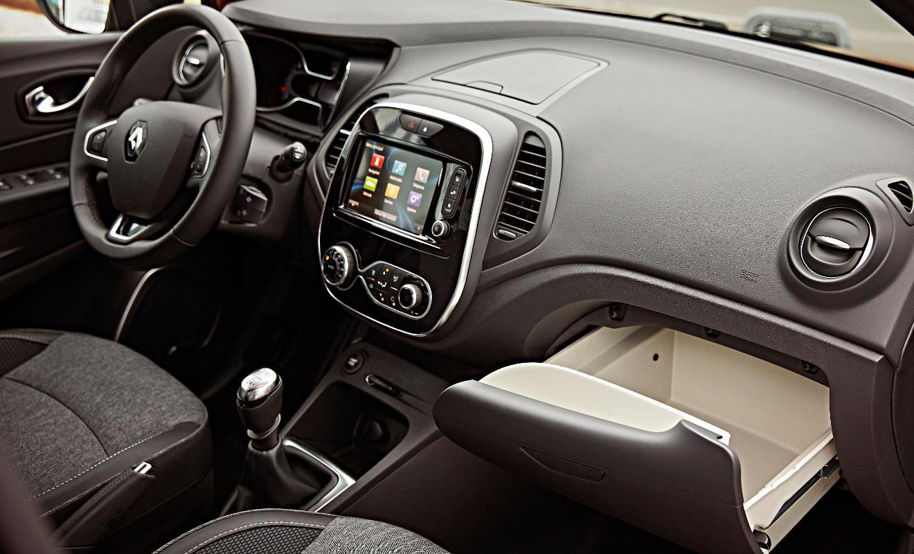 Innenraum des Renault Captur. Foto: Renault